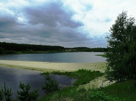 Bay in former sand mine in Myślin_img_1